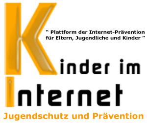 """Kinder-im-Internet.chJugendschutz und Prävention"""" Plattform der Internet-Prävention für Eltern, Jugendliche und Kinder """""""